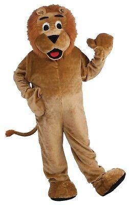 ADULT PLUSH LION COMPLETE MASCOT COSTUME