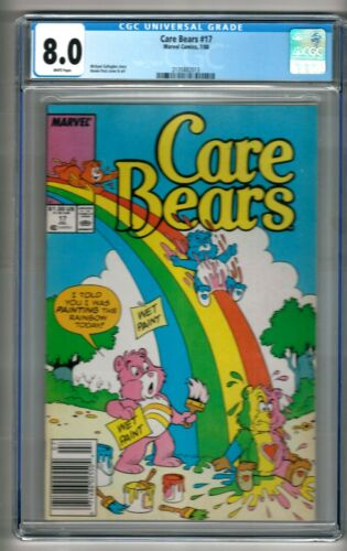 Care Bears #17 (1988) CGC 8.0 White Pages  Michael Gallagher - Howard Post