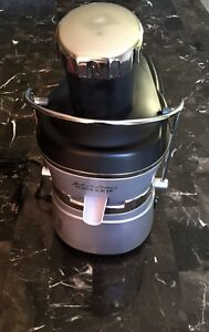 Jack LaLannes Power Juicer Excellent & Complete