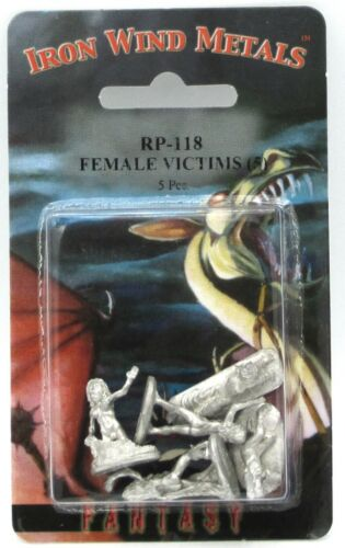 Ral Partha RP-118 Female Victims [5] (NPC Encounters) Fantasy Captives Slaves