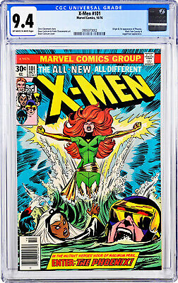 X-men #101 cgc 9.4 Origin of Phoenix (1st Appearance of Phoenix)
