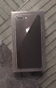 Brand New Unopened iPhone 8 Plus, Space Gray, 64GB
