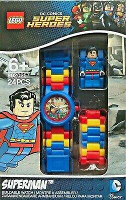 Lego 8020257 DC Comics Super Heroes Superman Kids Boys Buildable Watch Age 6+