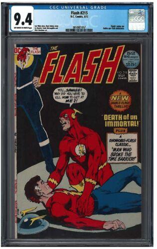 FLASH #215 CGC 9.4 (5/72) DC Comics