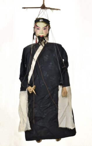 """Large Asian Chinese Handmade Opera String Marionette Puppet Doll 30"""""""