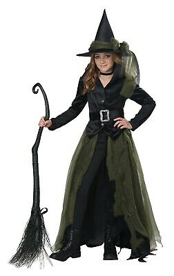 Cool Witch Wicked Oz Child Costume  - Kids Cool Costumes