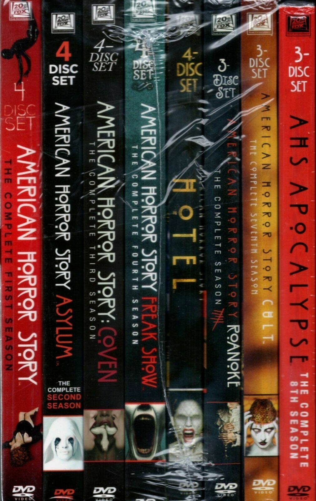 American Horror Story TV Series Complete All 1-8 Seasons DVD, Free Shipping - $66.56