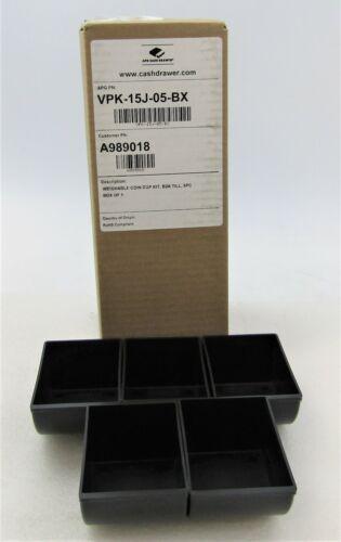 APG CASH DRAWER COIN CUP (QTY 5) VPK-15B-2A-BX B5 B10 VPK-15J-05-BX
