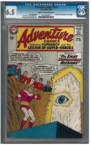 ADVENTURE COMICS #323 CGC 6.0 (8/64) DC COMICS