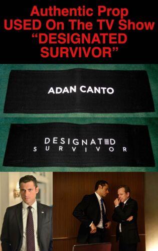 "Rare ADAN CANTO ""DESIGNATED SURVIVOR"" Auth CHAIR BACK PROP A Used by ADAN CANTO"