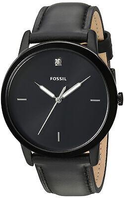 Fossil Men's Minimalist Carbon Series Quartz Stainless Steel Watch FS5478
