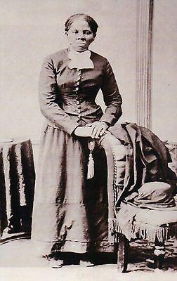 Harriet Tubman  Slave  Union Army Nurse  Underground Railroad Civil War Postcard