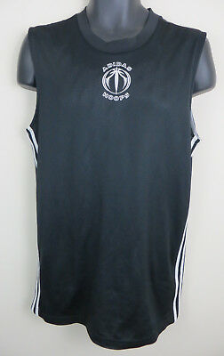 Adidas Reversible Basketball Athletics Vest Mesh Sports Jersey Mens M Medium Adidas Reversible Mesh Jersey