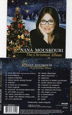 NANA MOUSKOURI - THE CHRISTMAS ALBUM (CD 2000) ()