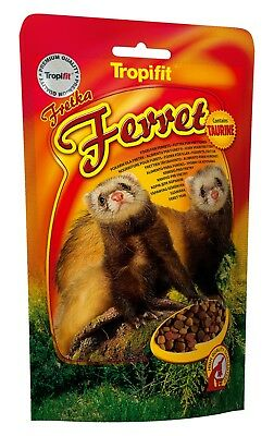 TROPIFIT FERRET FOOD With Omega 3 and Omega 6, Vitamins, Taurine (Doypack
