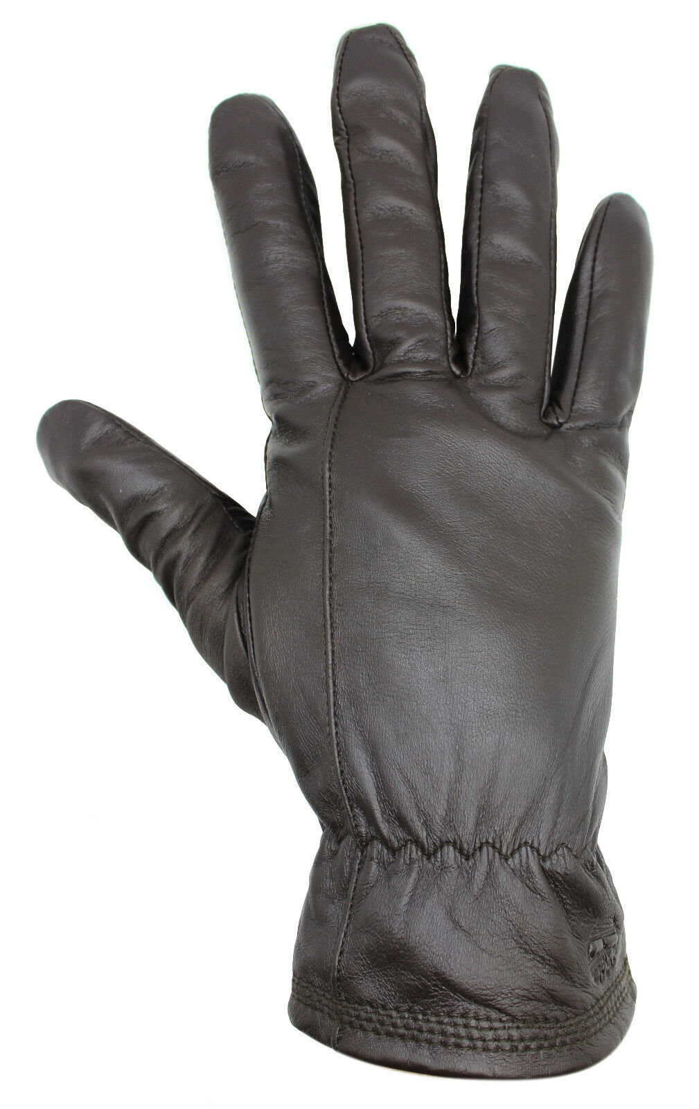 Mens black leather gloves debenhams - Timberland Mens Touch Screen Brown Sheep Leather Gloves