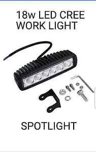 Car Truck 18W LED Work Light Bar Reversing Flood Lamp 4x4 Burpengary Caboolture Area Preview
