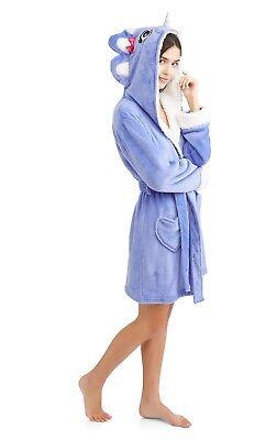 (Body Candy Huggable Luxe Critter Sleepwear Robe Size Medium)