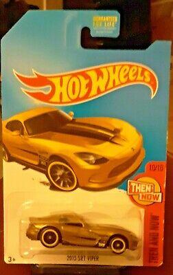 2017 Hot Wheels Super Treasure Hunt 2013 Dodge Viper SRT NIP w/ Protecto