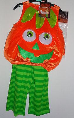 Halloween /Fancy dress party petrifying pumpkin costume - New - 3 to 6 months - 3 To 6 Month Halloween Costumes