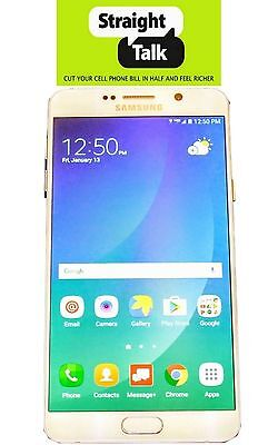 Samsung Galaxy Note 5 SM-N920V 32GB Straight Talk Verizon Towers - Unlocked CDMA