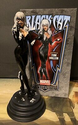 Bowen Designs Black Cat Statue by Tim Miller #457 / 1750