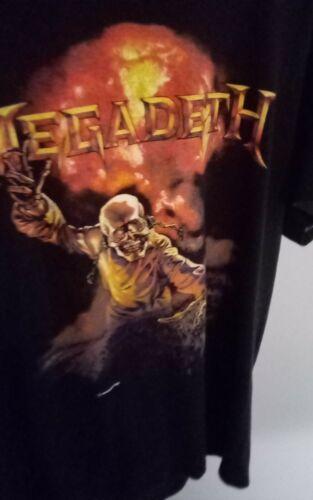 rare vintage 1987 megadeth concert shirt , never worn