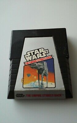 Star Wars: The Empire Strikes Back (Atari 2600, 1982) Video Game Cartridge