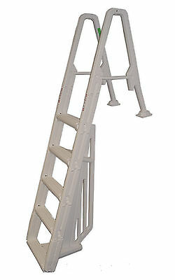 Confer 6100X Warm Grey Above Ground Heavy Duty Swimming Pool In-Pool Ladder