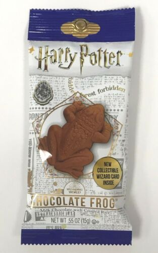 Harry Potter Chocolate Frogs - 24ct PARTY PACK - Each pack has a Wizard Card!