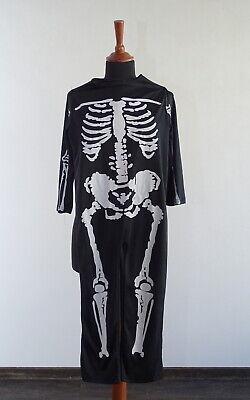 Halloween Kostüm Skelett für Kinder Jungen Jungs Fasching - Skelett Halloween Kostüm Kind