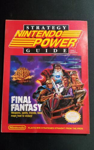 Nintendo Power Magazine Strategy Guide Final Fantasy 1990 Vol. 17 w Insert NICE