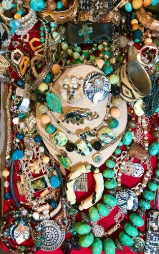 Vintage Modern Designer Jewelry Lot Lucky Brand Napier India Alice Seel Liz C