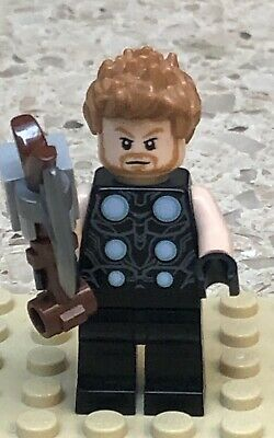 LEGO Thor Minifigure Marvel Super Heroes 76102 Authentic Minifig SH502