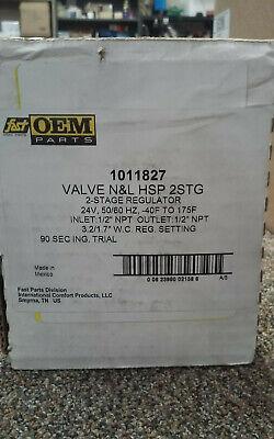 Fast Hvac Parts Oem Parts 1011827 Valve Nl Hsp2stg 2-stage Regulator