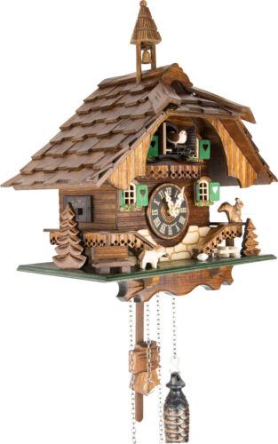 German Cuckoo Clock Quartz-movement Chalet-Style 31cm by Engstler