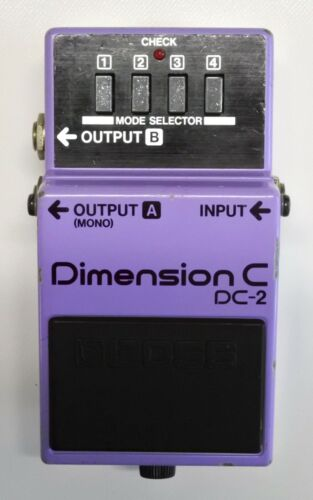 BOSS DC-2 Dimension C Guitar Effects Pedal MIJ 1986 #73 DHL Express or EMS