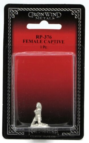 Ral Partha RP-376 Female Captive (NPC Encounters) Bandit