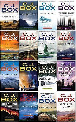 Joe Pickett Series Collection Set Books 1 16 Mass Market Paperback By C J Box