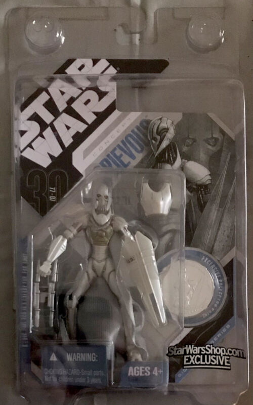 2007 Star Wars 30th Anniversary Concept General Grievous