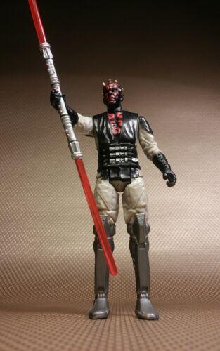 "Star Wars Mission Series MS06 Mandalore ruler Darth Maul 3.75"" Figure cyborg"