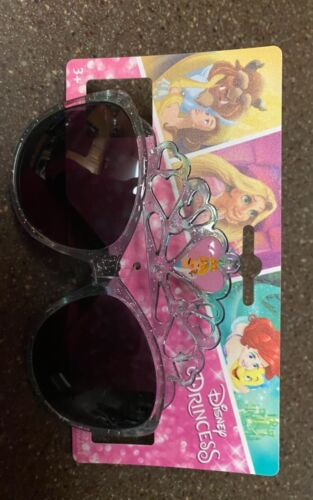 Disney Cinderella Sun Glasses with crown design cute with 100% uv protection