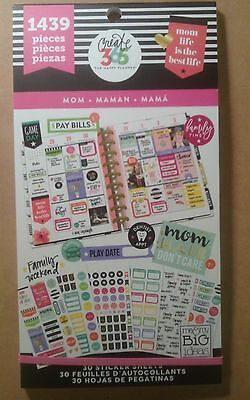 New  Me   My Big Ideas Create 365  Mom  Value Pack Stickers