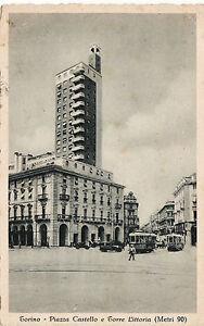 Torino architettura fascista piazza castello e torre for Architettura fascista