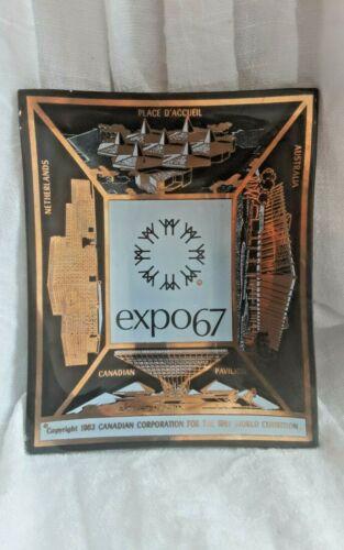 EXPO67 VINTAGE CANADA WORLD EXPOSITION DISH NETHERLANDS AUSTRALIA D