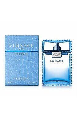 Versace Man Eau Fraiche Eau de Toilette 100ml EDT Spray Brand New Boxed & Sealed