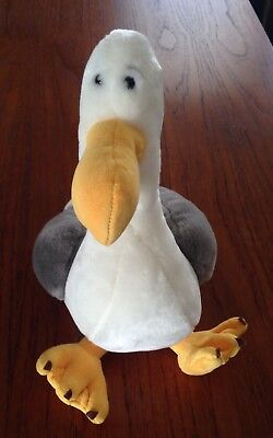 "RARE Exclusive Disney Pixar Finding Nemo ""MINE MINE MINE"" Seagull Plush"