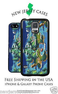 Disney Neverland Map Peter Pan For Apple  Samsung  Lg  Google Phone Pixel Case