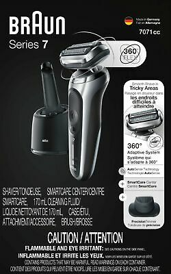 Braun - Series 7 Wet/Dry Electric Shaver - Silver