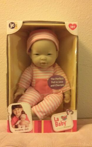 JC Toys La Baby Doll by Berenguer Realistic Baby Doll With Pink Outfit - New